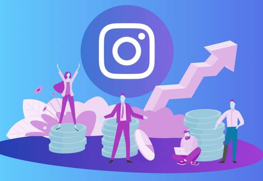 grow chart of business on instagram