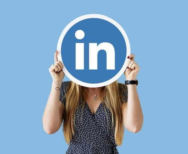 Face cover by LinkedIn